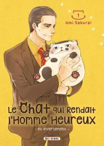 Couverture du tome 1 de Le chat qui rendait l'homme heureux et inversement chez Soleil