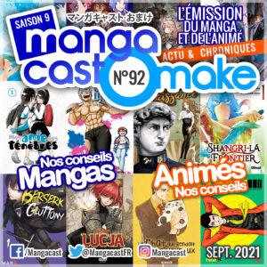 Cartouche du Mangacast Omake n°92
