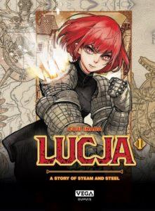 Couverture du tome 1 de Lucja chez Vega dupuis