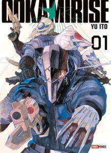 Couverture du tome 1 de Ookami rise chez Panini manga