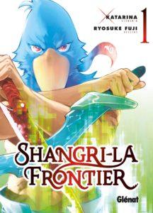 Couverture du tome 1 de Shangri-la Frontier chez Glénat