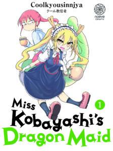 Couverture du tome 1 de Miss Kobayasahi's Dragon Maid chez Noeve Grafx