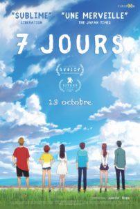 Affiche du film 7 jours distribué par Eurozoom