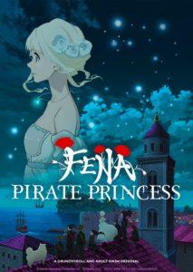 Affiche de la série Fena Pirate Princess sur Crunchyroll